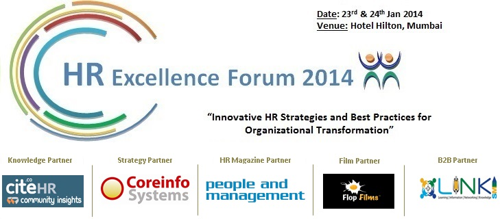 HR Excellence Forum 2014 in Mumbai from January 23-24, 2014