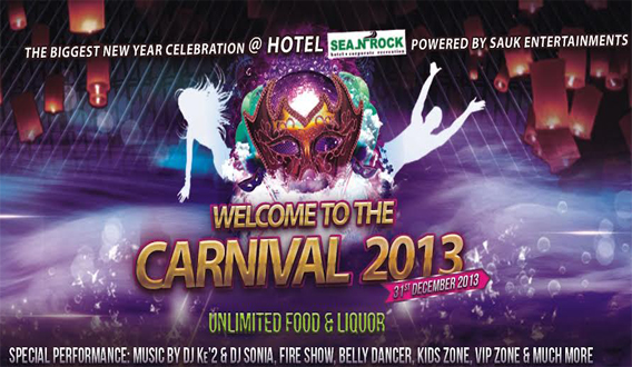 Welcome to The Carnival 2013 in Mumbai on December 31, 2013