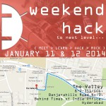 Weekend Hack by Android++ in Hyderabad from January 11-12, 2014