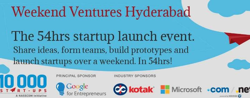 Startup at Weekend Ventures Hyderabad from February 21-23, 2014