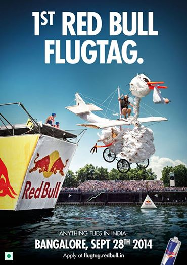 Red Bull Flugtag in Bangalore on September 28, 2014