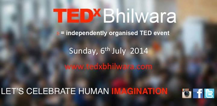 TEDxBhilwara in Rajasthan on July 6, 2014