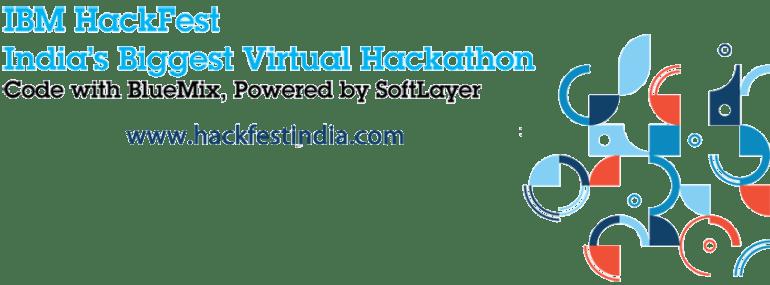 IBM HackFest India's Biggest Virtual Hackathon from August 11-25, 2014
