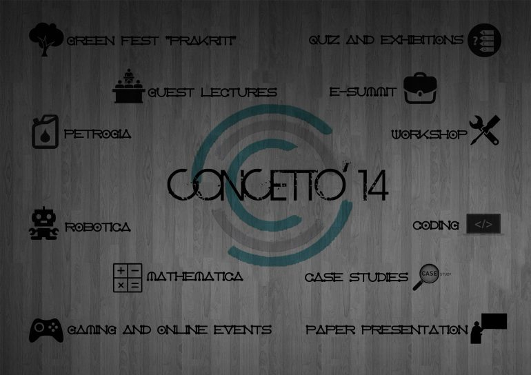 Concetto 2014 - Techno-Management of ISM Dhanbad from October 17-19, 2014
