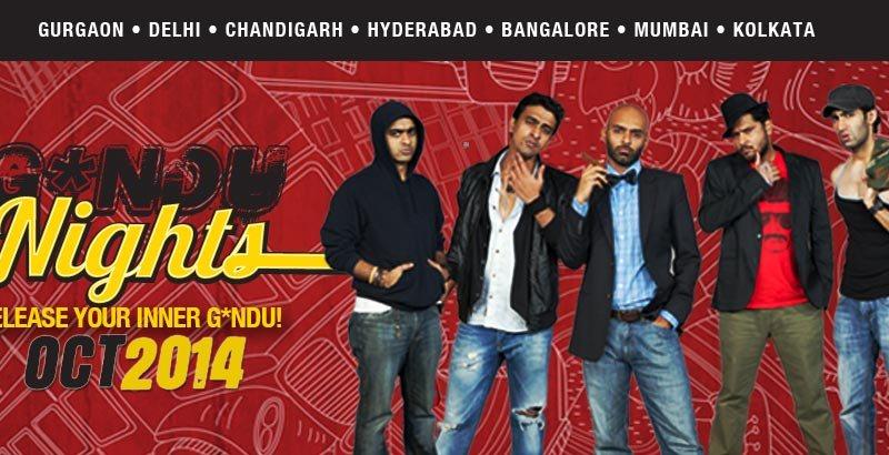 Gandu Nights 2.0 in Mumbai on October 18, 2014