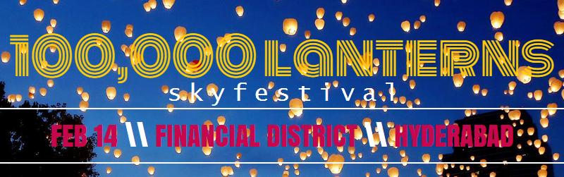 100,000 Lanterns - Sky Festival on February 14, 2015