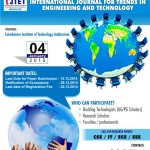 ICICCE 2015 – International Conference in Coimbatore on February 15, 2015