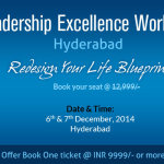 Leadership Excellence Workshop in Hyderabad from December 6-7, 2014