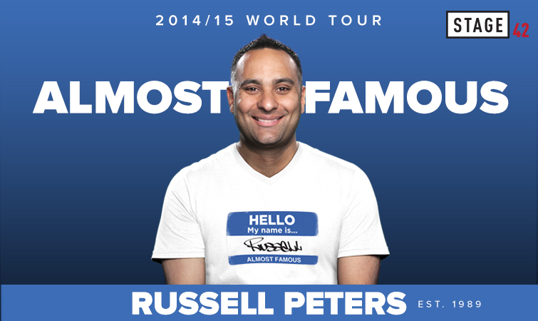Russel Peters - Almost Famous World Tour in Hyderabad on February 17, 2015