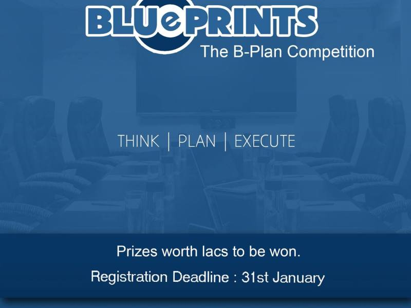 BluePrints 2015 - Business Plan Competition in New Delhi from February 14-15, 2015