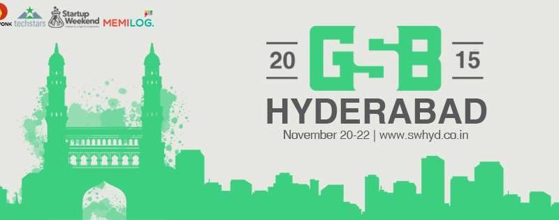 Startup Weekend + Global Startup Battle in Hyderabad from November 20-22, 2015