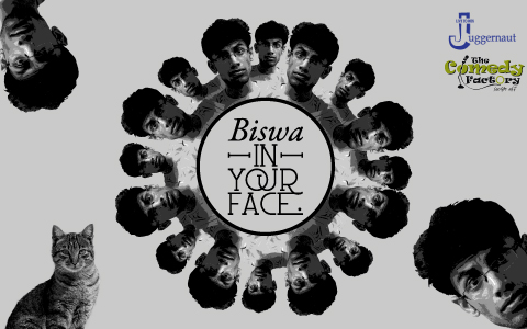 Biswa in your face in Surat on October 10, 2015