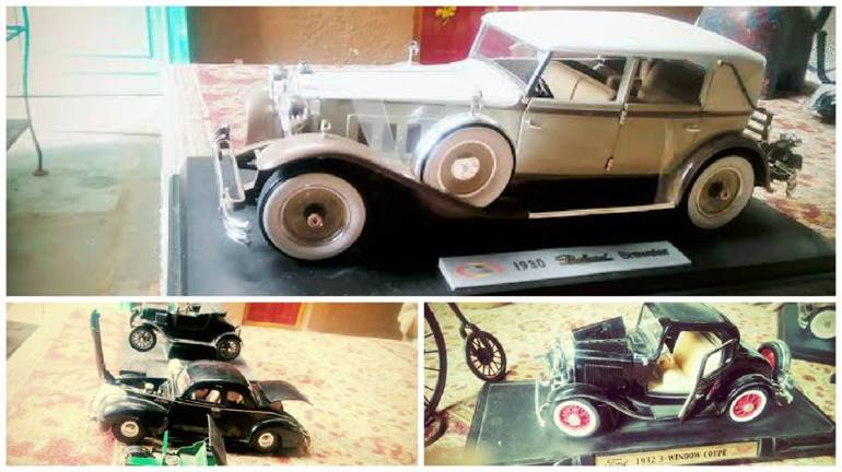 Model Cars Exhibition in Secunderabad on December 27, 2015