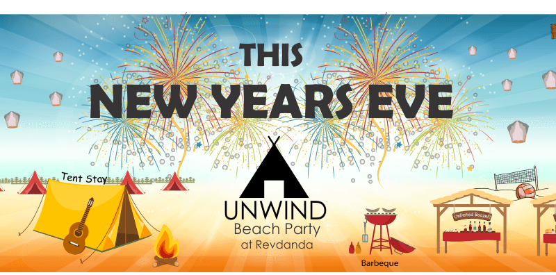 UNWIND New Years Eve Beach Camping Party in Maharashtra on December 31, 2015