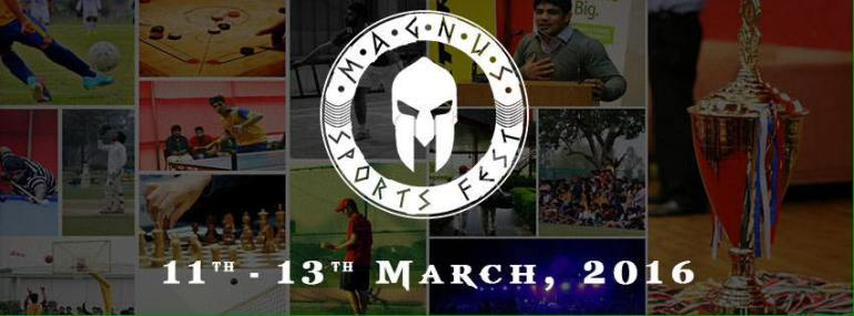 Magnus - Annual Sports Tournament in Haryana from March 11-13, 2016