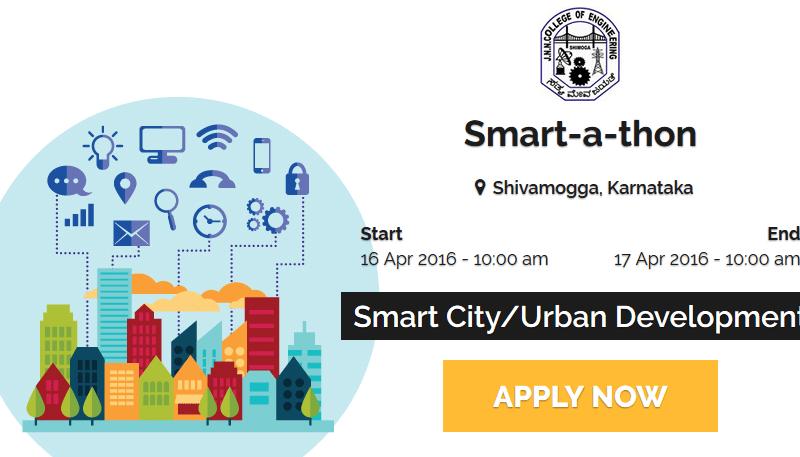 Smartathon 2016 - Hackathon in Karnataka from April 16-17, 2016