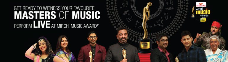 Mirchi Music Awards in Hyderabad on July 3, 2016