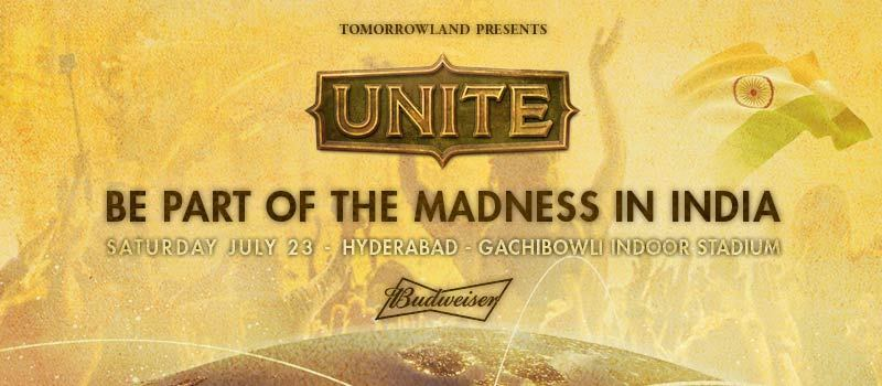 Tomorrowland UNITE: The Mirror to Tomorrowland in Hyderabad on July 23, 2016