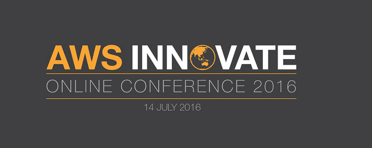 AWS Innovate - Online Conference by Amazon on July 14, 2016