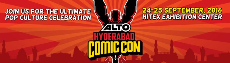 Alto Hyderabad Comic Con at Hitex from September 24-25, 2016