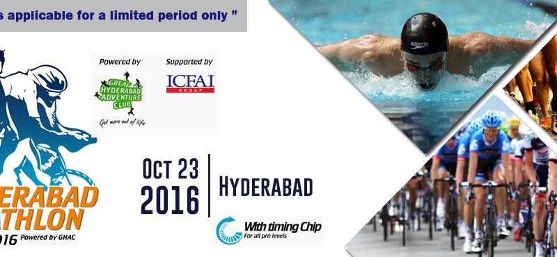 Hyderabad Triathlon 2016 on October 23, 2016