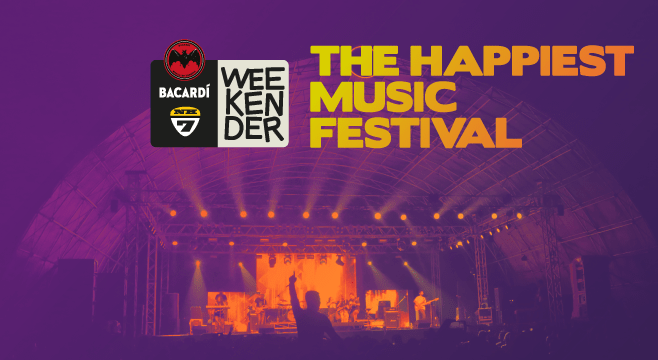 Bacardi NH7 Weekender 2016 in Pune from December 2-4, 2016
