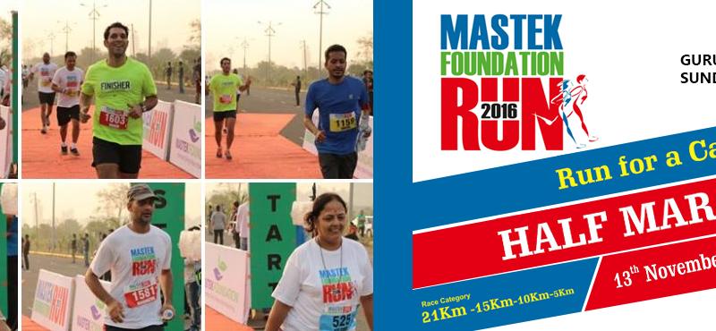 Mastek Foundation Run 2016 in Pune on November 13, 2016
