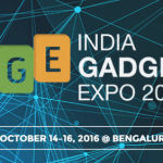 India Gadgetz Expo 2016 in Bangalore from October 14-16, 2016