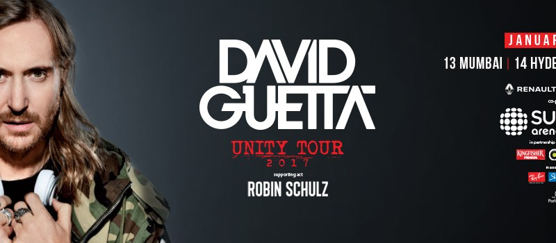 Sunburn Arena with David Guetta in Mumbai, Hyderabad and Delhi from January 13-15, 2017