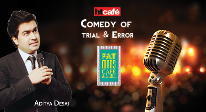 HT Cafe A Comedy of Trial & Error in Mumbai on January 18, 2017