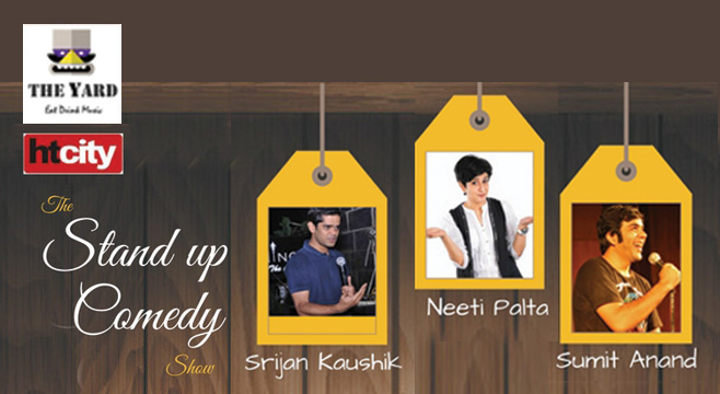 HT City The Standup Comedy Show in New Delhi on January 17, 2017