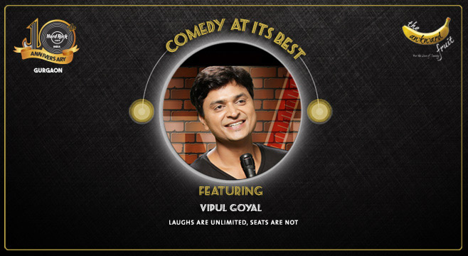 Humorously Yours - A Special by Vipul Goyal in Gurgaon on January 31, 2017