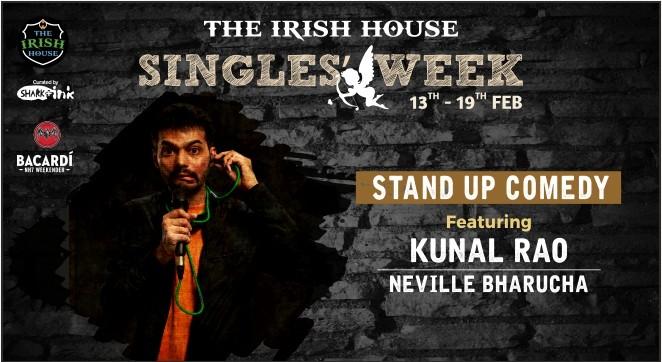 The Irish House Singles Week feat. Kunal Rao & Neville Bharucha in Mumbai on February 14, 2017