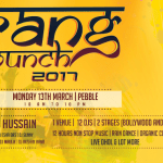 2017 Holi – Rang Munch in Bangalore on March 13, 2017