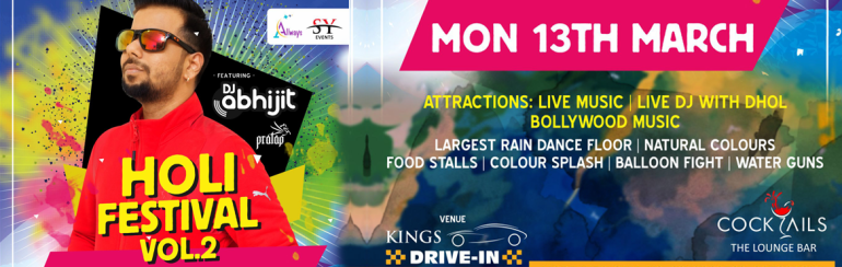 Holi Festival Vol 2 at Kings Drive Inn in Hyderabad on March 13, 2017