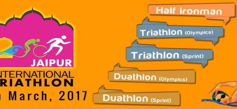 Jaipur International Triathlon on March 19, 2017