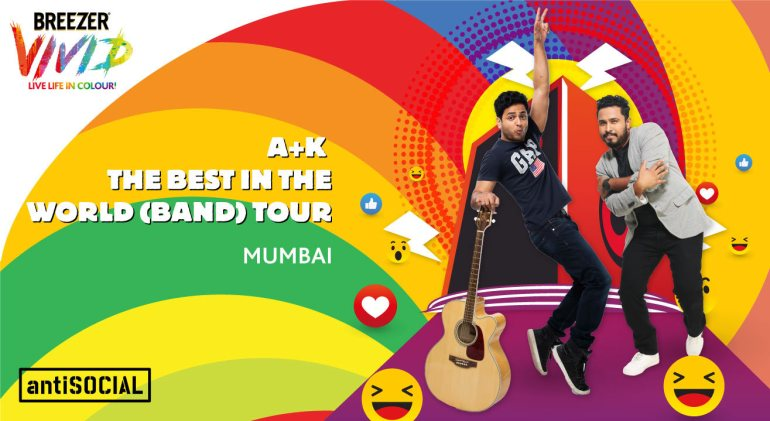 Breezer Vivid A+K The Best in the World (Band) Tour in Mumbai on May 9, 2017