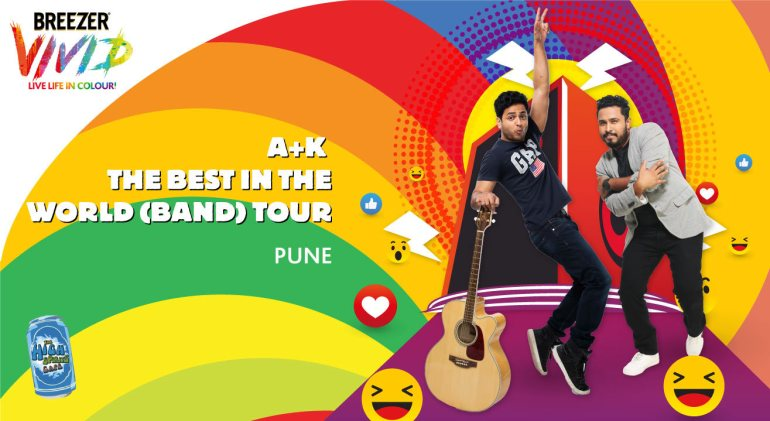 Breezer Vivid A+K The Best in the World (Band) Tour in Pune on April 29, 2017