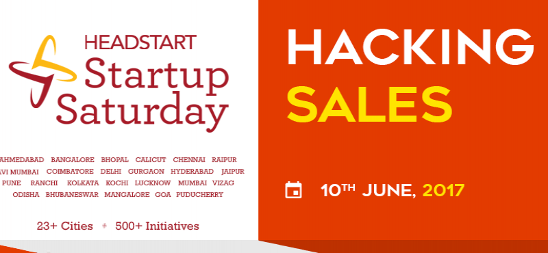 Hacking Sales - Startup Saturday June Edition on June 10, 2017