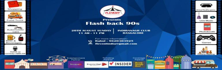 Flevent presents Flash back 90s in Bengaluru on August 20, 2017