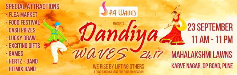 Dandiya Waves 2017 - | Dance | Shopping | Food in Pune