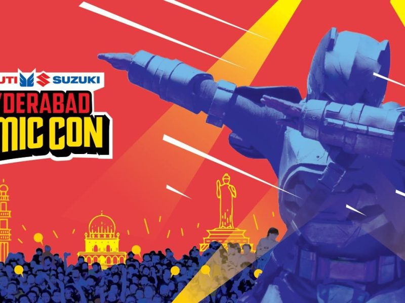 Hyderabad Comic Con from October 14-15, 2017
