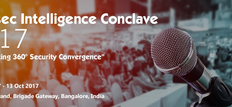 InfoSec Intelligence Conclave 2017 in Bengaluru