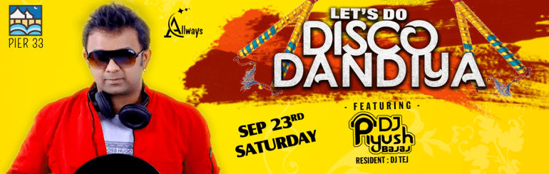 Lets Do Dandiya - With DJ Piyush in Hyderabad
