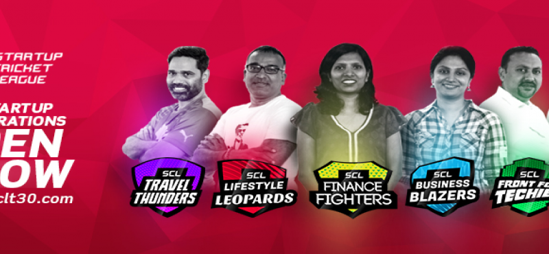 Startup Cricket League 2017 in Hyderabad