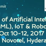 The AIR (AI, IoT, Robotics) Summit in Hyderabad from October 10-12, 2017