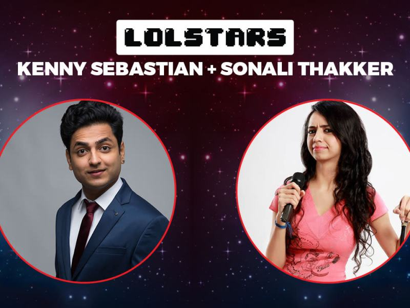 LOLStars ft. Kenny Sebastian & Sonali Thakker in Bengaluru on January 21, 2018