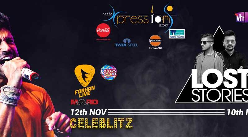 Xpressions 2017 - Management-Cultural Fest from November 10-12, 2017
