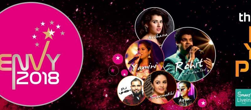ENVY 2018 in Hyderabad on December 31, 2017