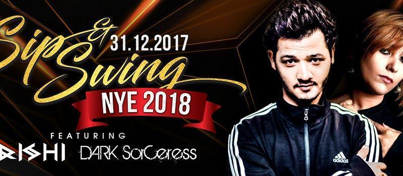 Sip & Swing NYE 2018 in Madhapur on December 31, 2017